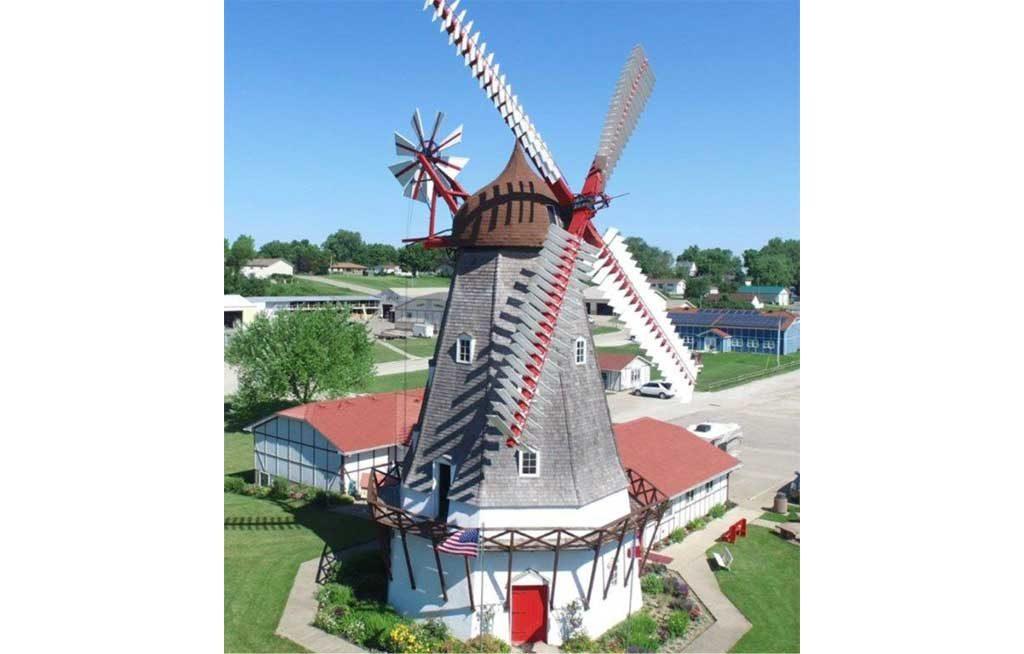 Aerial Danish Windmill